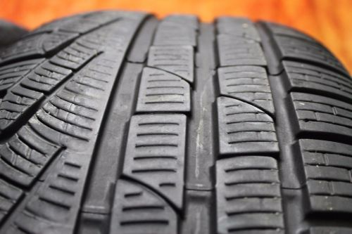 TWO-Used-24550R18-2455018-Pirelli-SottoZero-Passenger-Tires-Pair-4010-RFT-272636186553-5-1.jpg