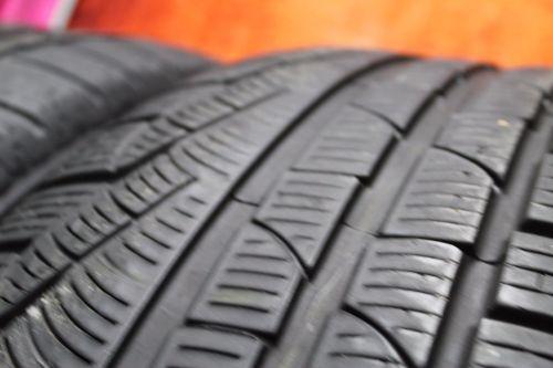 TWO-Used-24550R18-2455018-Pirelli-SottoZero-Passenger-Tires-Pair-4010-RFT-272636186553-6-1.jpg