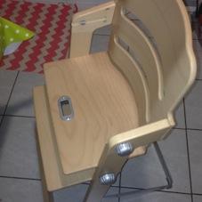 chaise haute puériculture matériel bébé