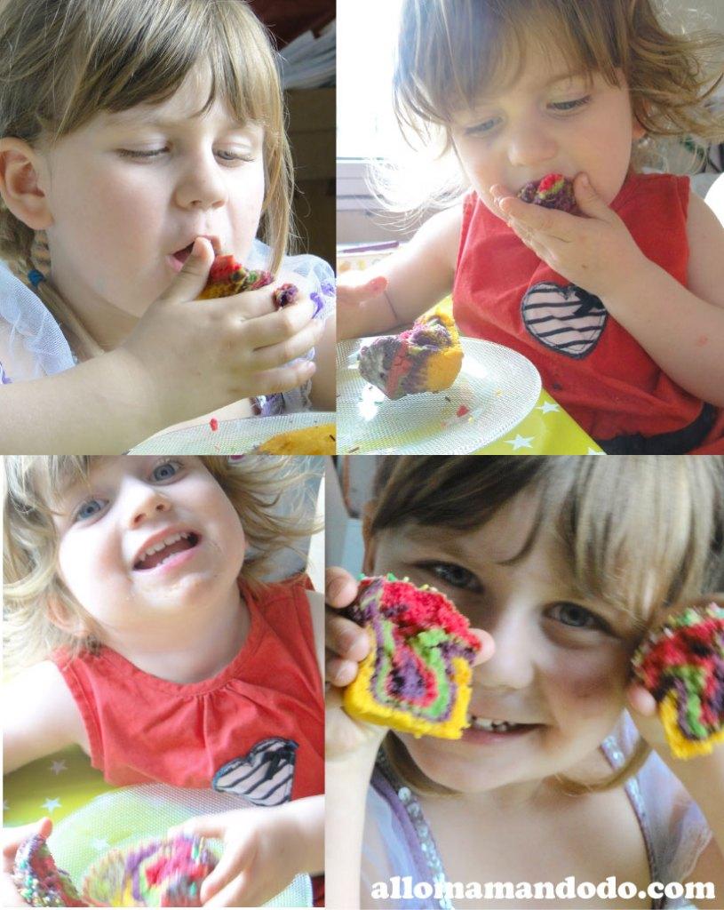 cupcake arc en ciel 5