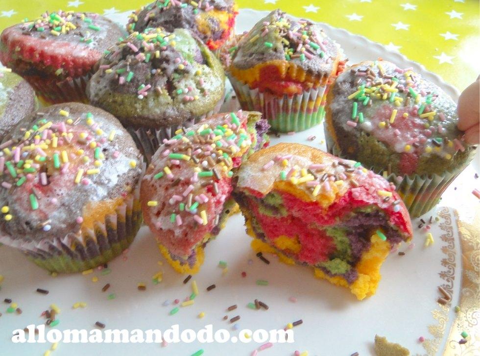 cupcake arc-en-ciel 8