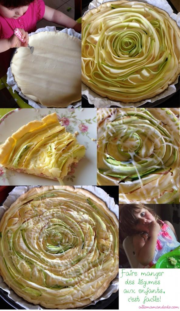 tarte courgette