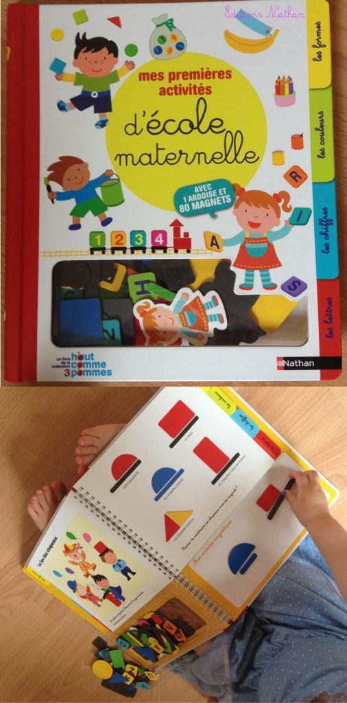 livre école magnétique nathan maternelle