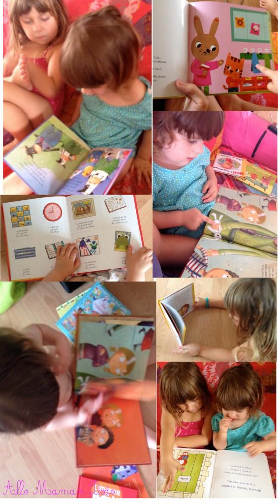 livres sur l'école pour enfants