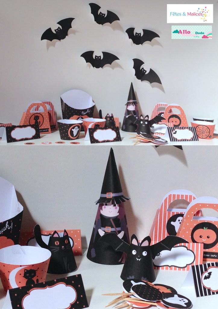 kit à imprimer halloween