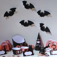 Un kit à imprimer pour sa déco d'Halloween (avec Fêtes et Malices)