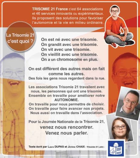 journée nationale trisomie 21