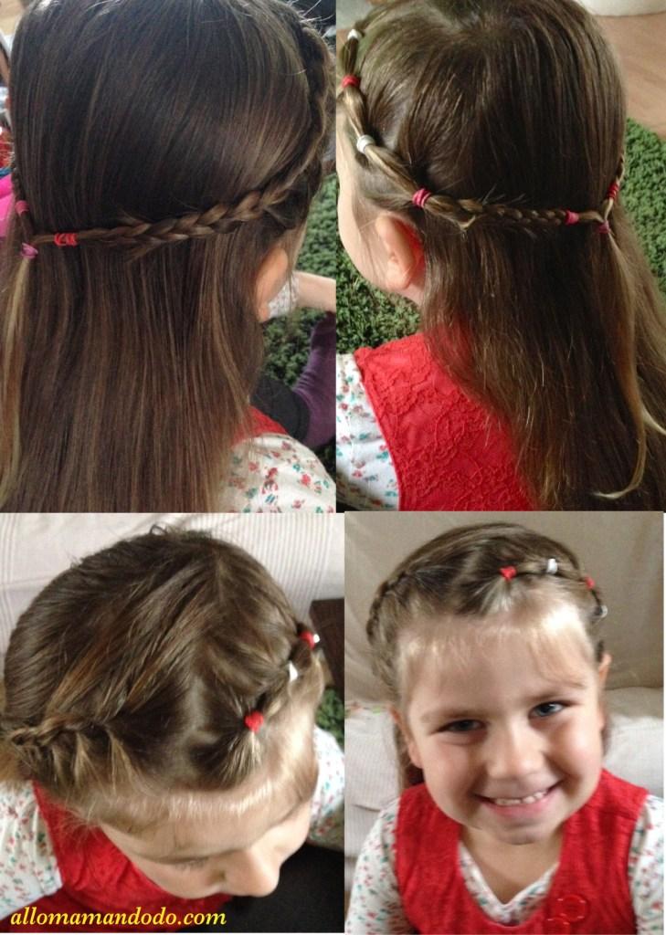 coiffure double tresses