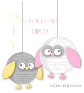 suspension hibou diy