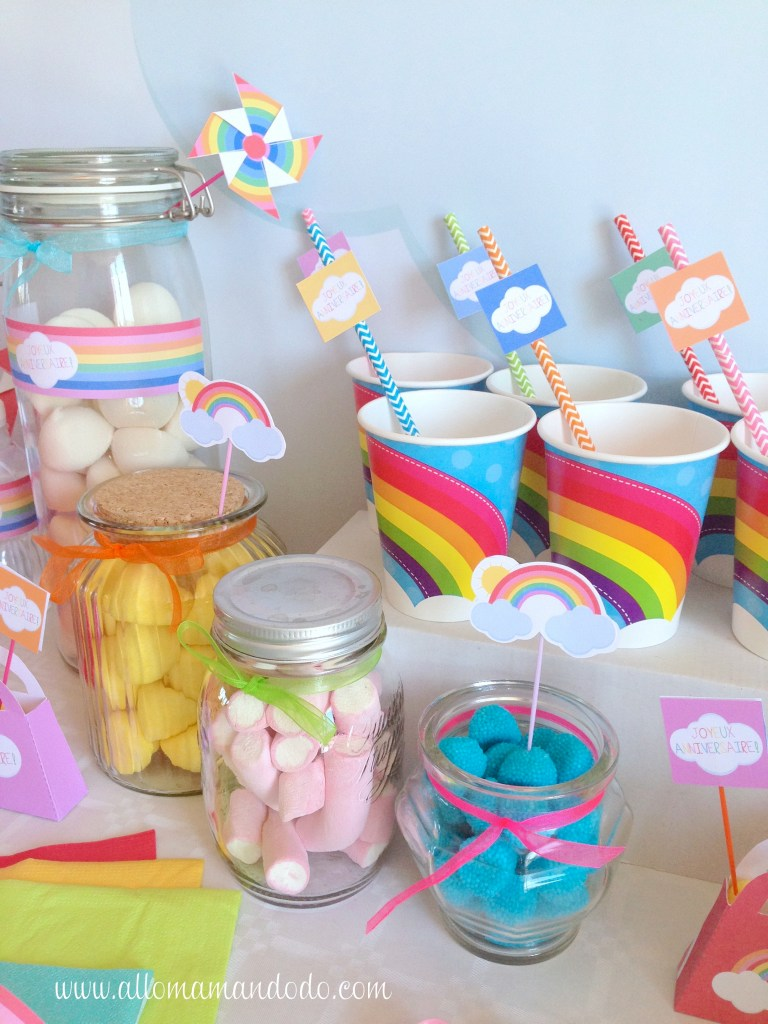 rainbow party birthday
