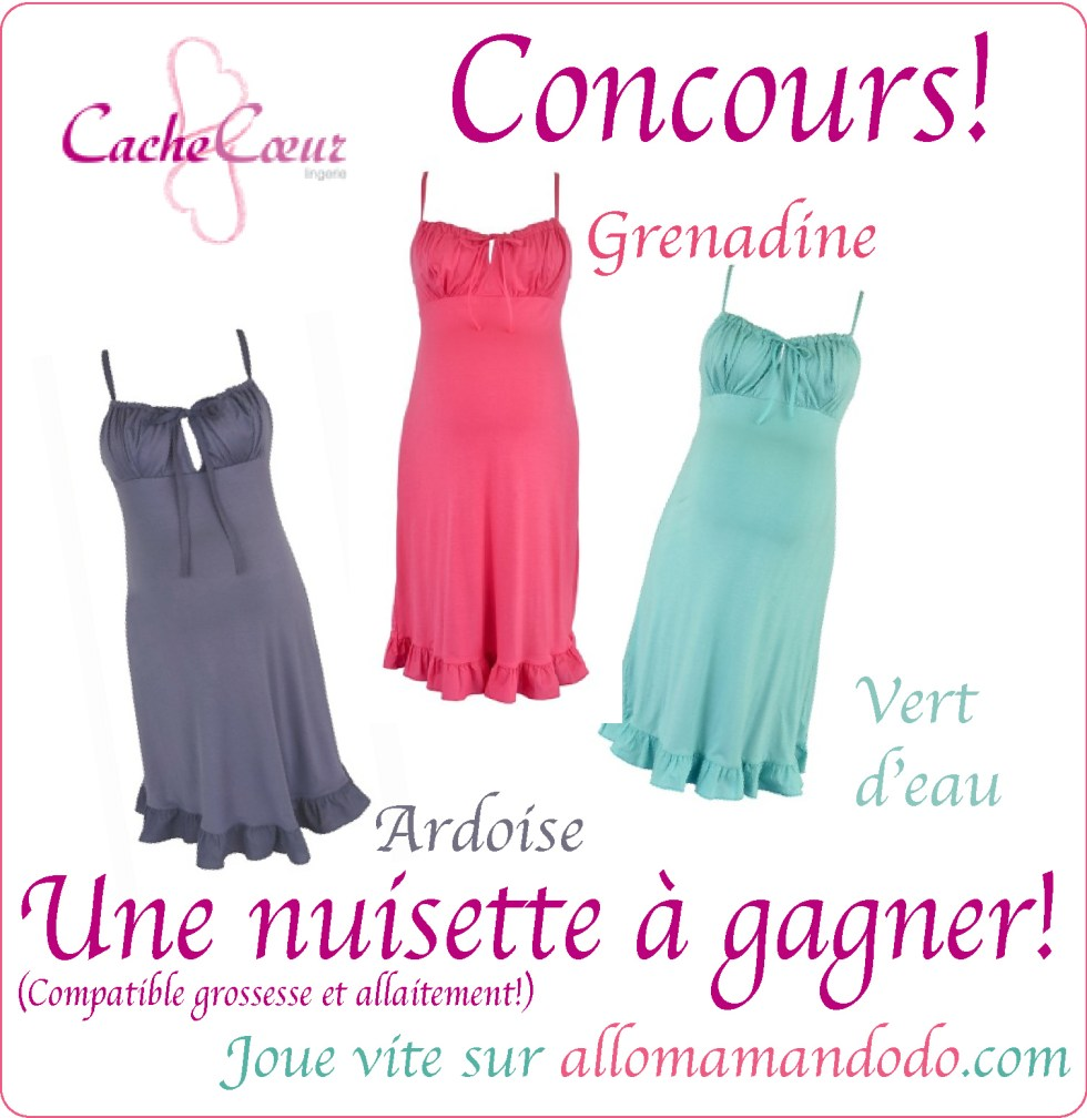 nuisette concours grossesse