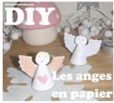 diy ange papier