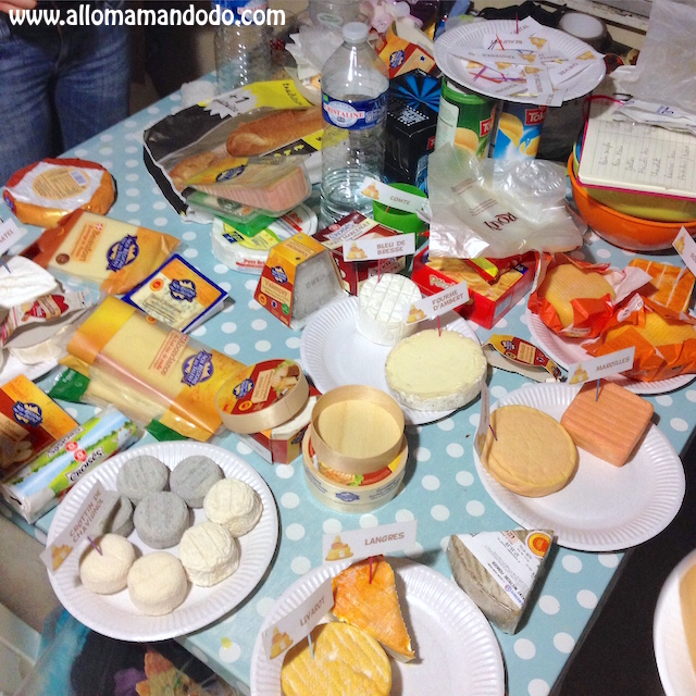 Idée Repas Convivial Idée conviviale du Week end: Le Repas de Fromages! (Fiches à