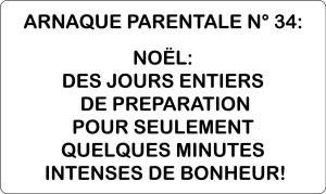 noel arnaque humour blog maman