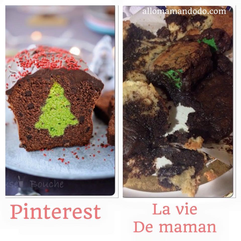 vraie vie de maman humour gâteau raté