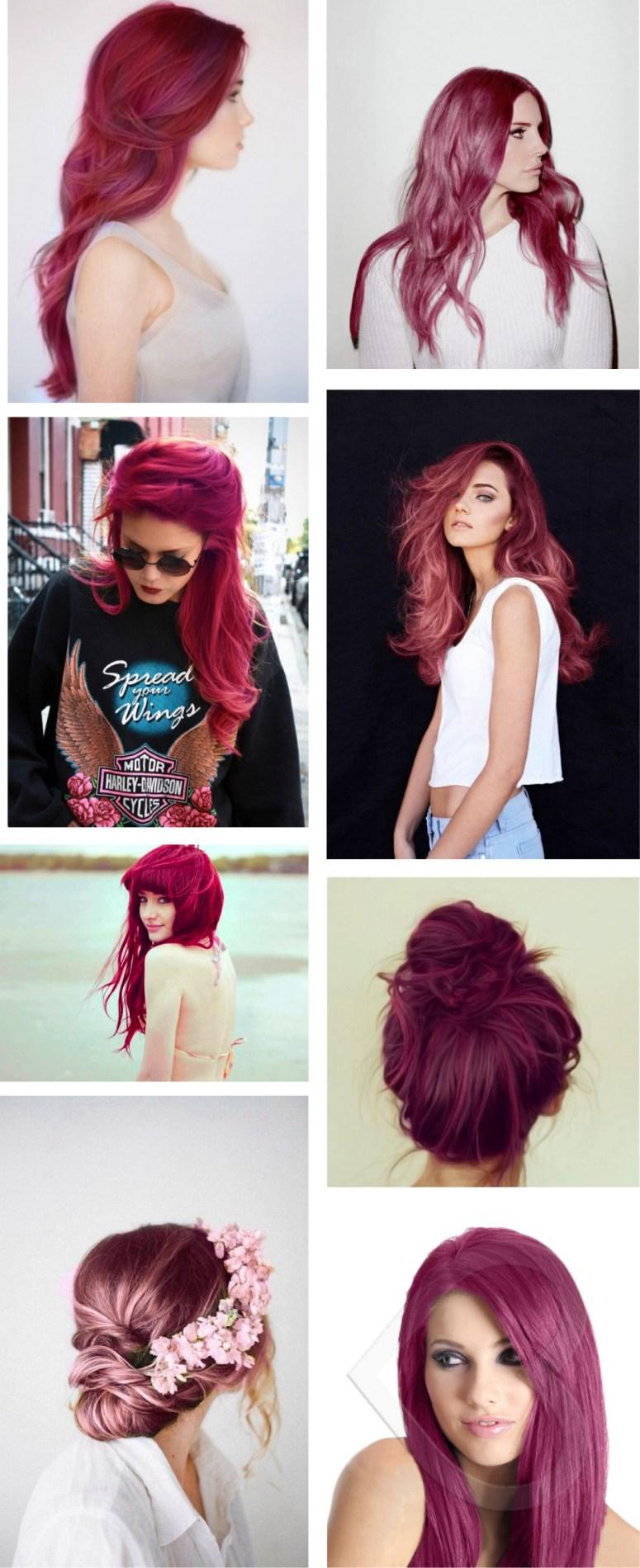 cheveux-rose-framboise