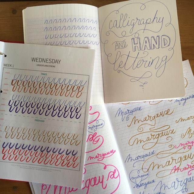 Apprendre facilement la calligraphie et le handlettering ...