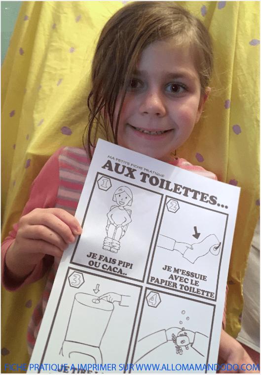 fiche pratique toilette
