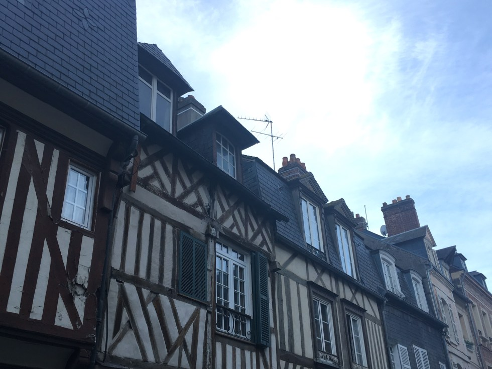 maisons normandes blog voyage
