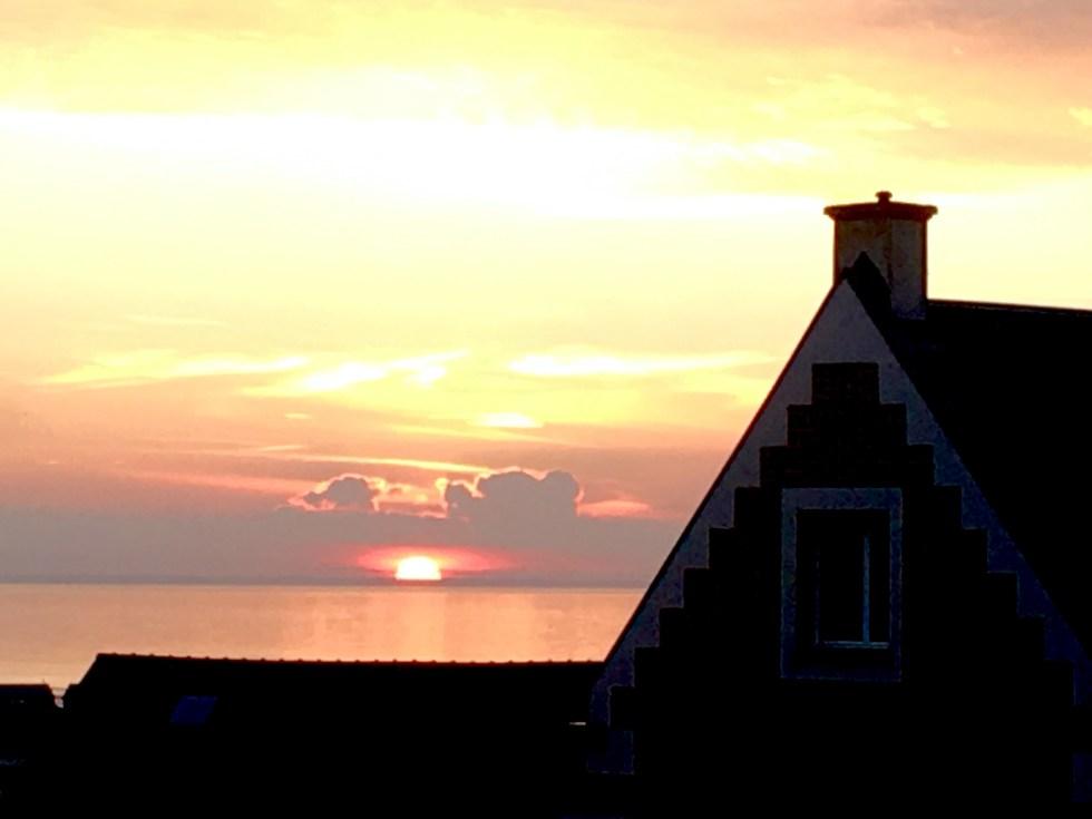 trouille coucher soleil