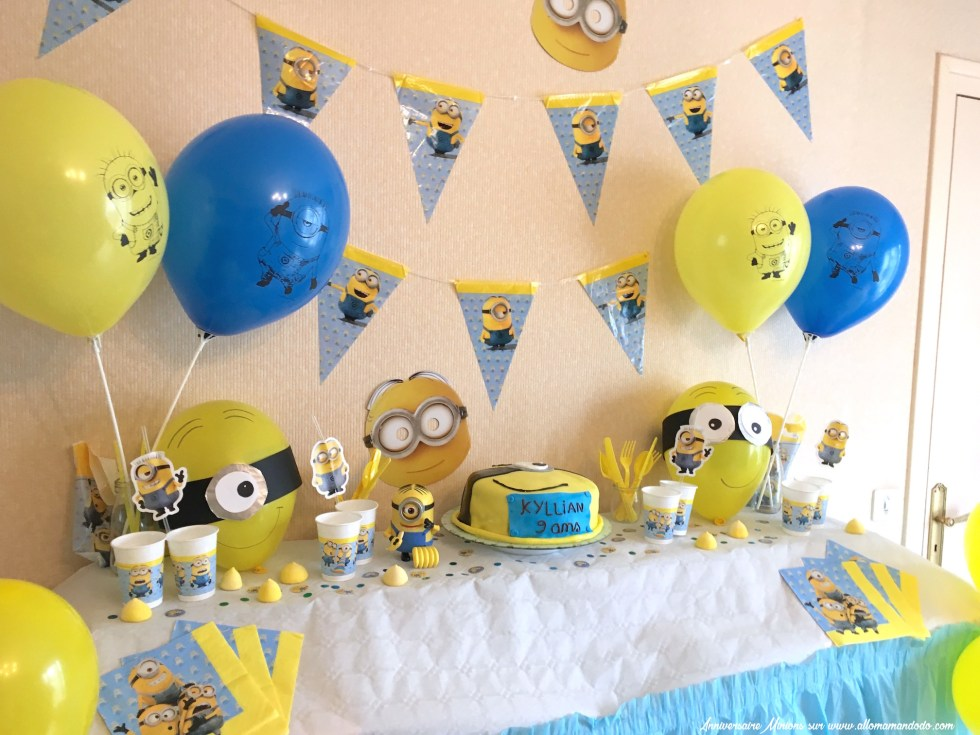 sweet table minion