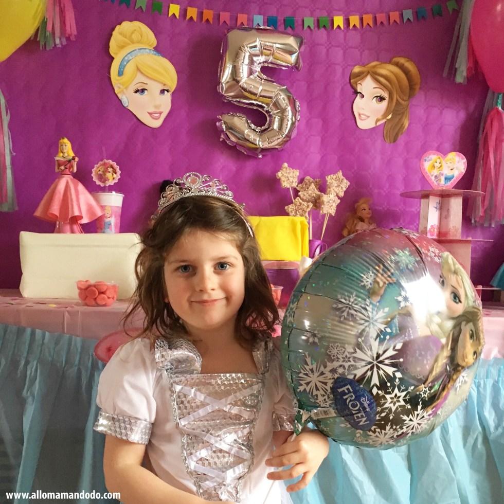 5 ans anniversaire princesses disney