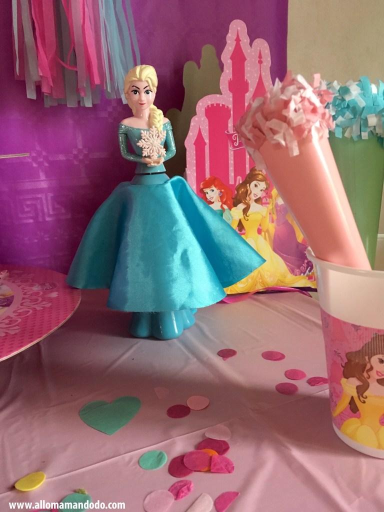 deco anniversaire princesse reine des neiges