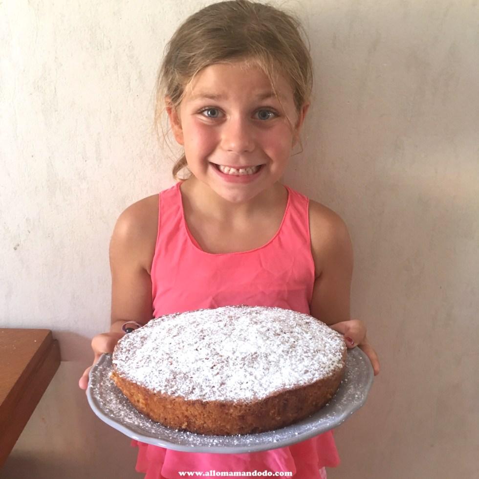 plumette carrot cake gâteau de carotte enfant