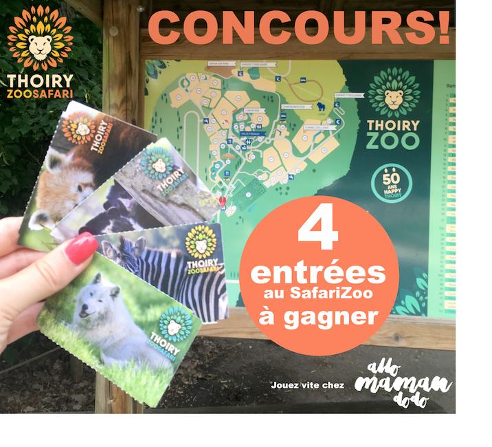 Le ZooSafari de Thoiry a 50 ans: Visite et nouveautés en vidéo! (+ Concours!)