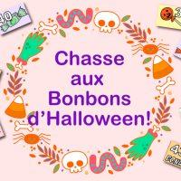 Chasse Aux Bonbons d'Halloween à imprimer!