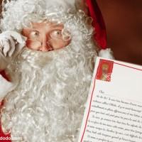 La lettre réponse du Père Noël à imprimer!