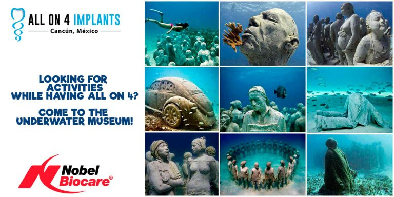 All on 4 in Cancun: Visit the Underwater Museum!