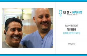 All on 4 Happy Patient: Alfredo!