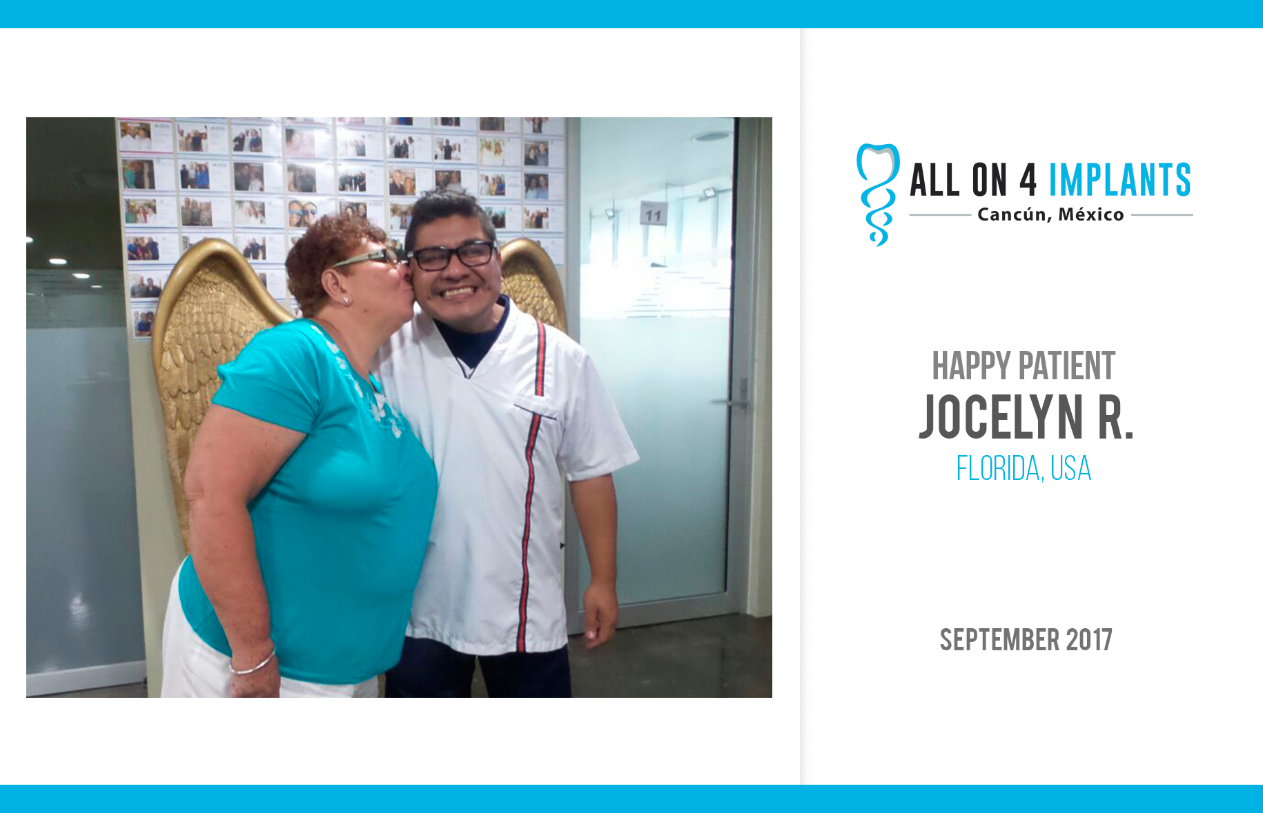 Another All-on-4 Happy Patient!