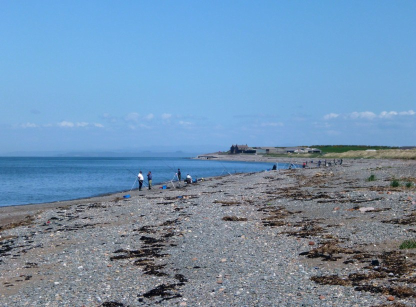 Beach casting Allonby