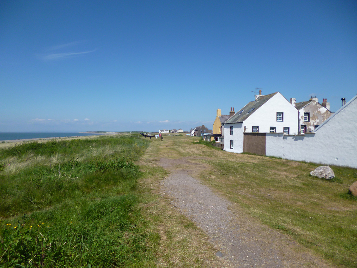 Behind the stables Allonby