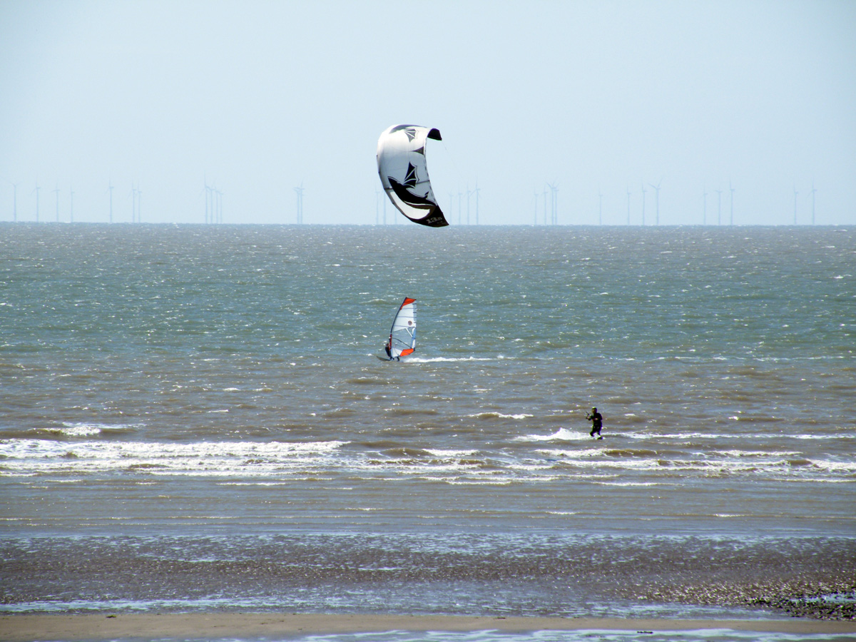 Watersports at Allonby