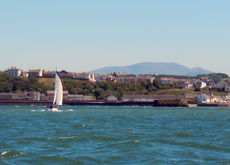 Sailing at Maryport