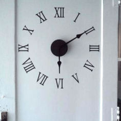 Repurposed Door Clock via http://www.remodelaholic.com/r-epurposed-door-to-large-wall-clock-diy/