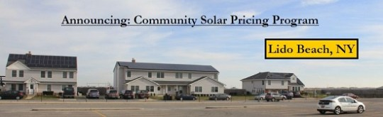 EmPower Solar's new Lido Beach community pricing plan, photo courtesy EmPower Solar