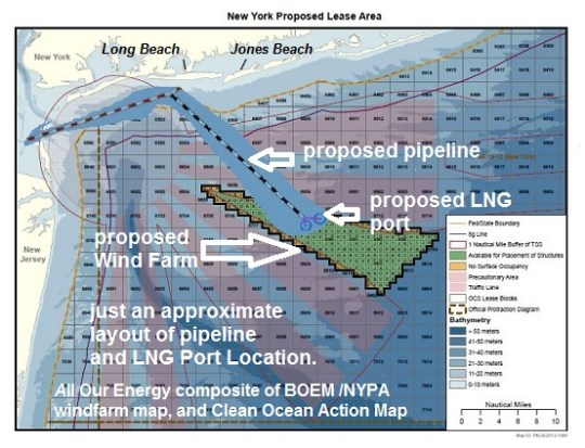 Stop the LNG Port Off Our Shore | All Our Energy