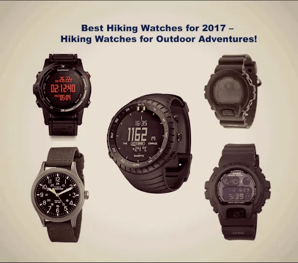 best hiking watches for outdoor adventures