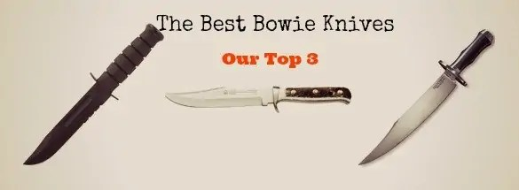 top bowie knives