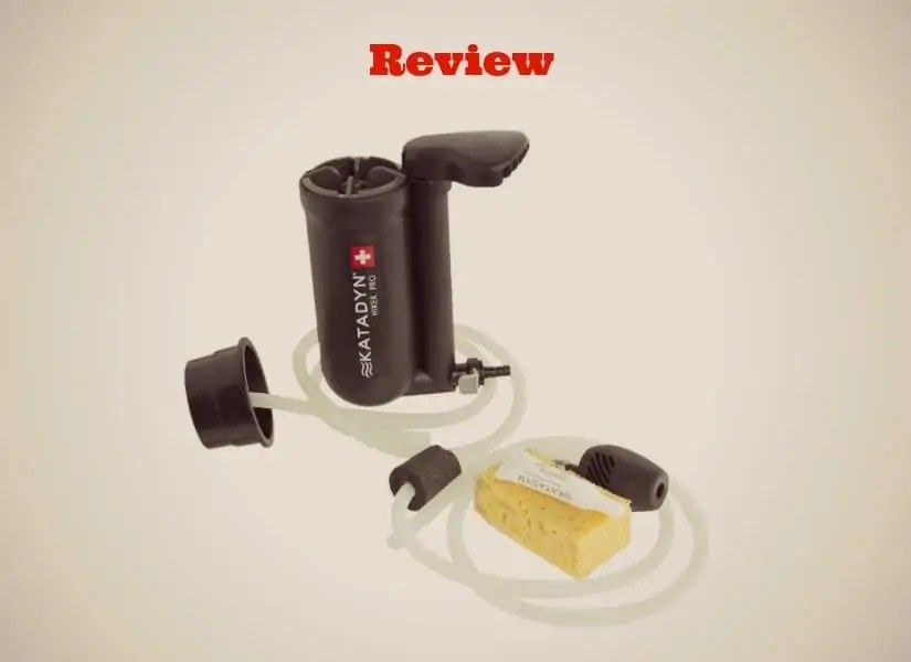 The Katadyn Hiker Pro Microfilter Stay Hydrated My