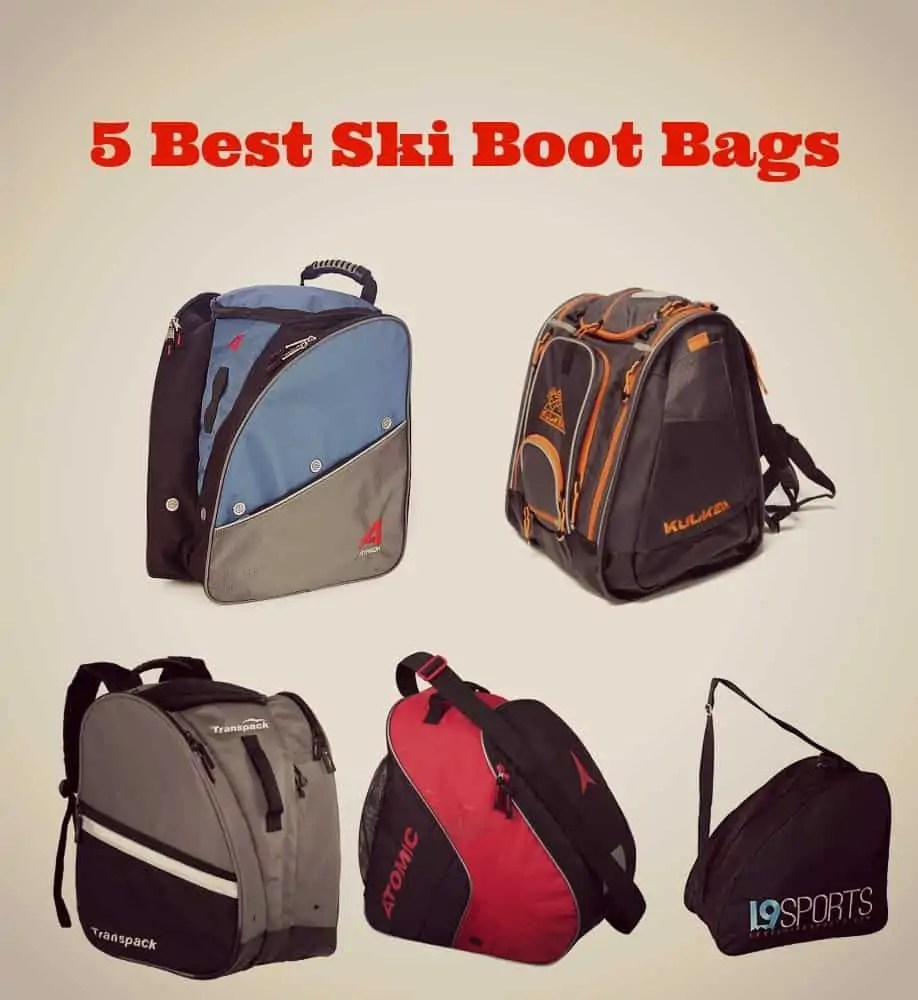 Five Best Ski Boot Bags