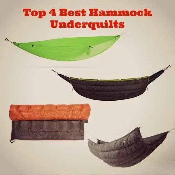 Top 4 Best Hammock Underquilts