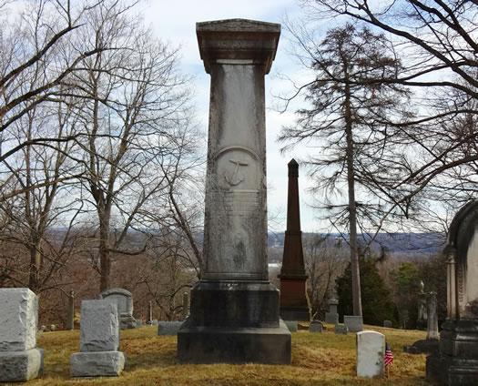 Albany Rural Samuel Schuyler marker