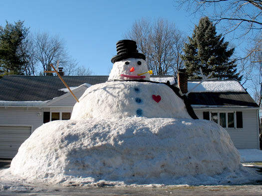 Fat Funny Pictures Snow