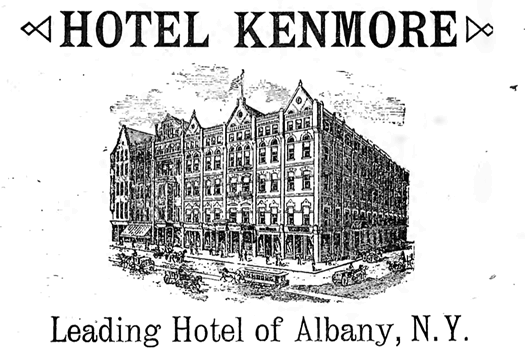 kenmore hotel ad appletons guide 1893