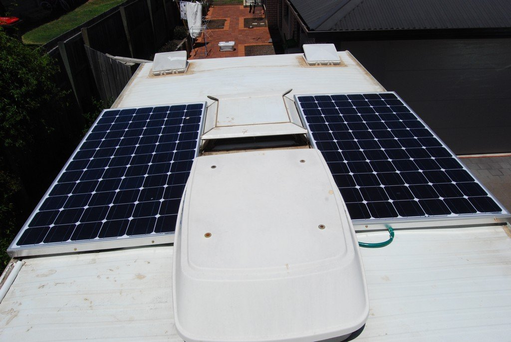 2 x 200 watt Solar Panels on or own Van